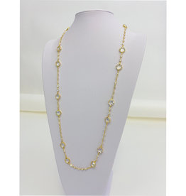 Be- Je Designs Be-Je Gold 36' Small to Large Crystals