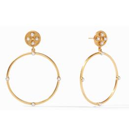 Julie Vos Julie Vos Paris Statement Earrings Gold Pearl
