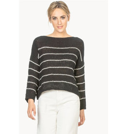 Lilla P Lilla P Striped Boatneck Sweater
