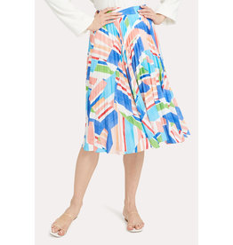 Milly Milly Celeste Pleated Skirt