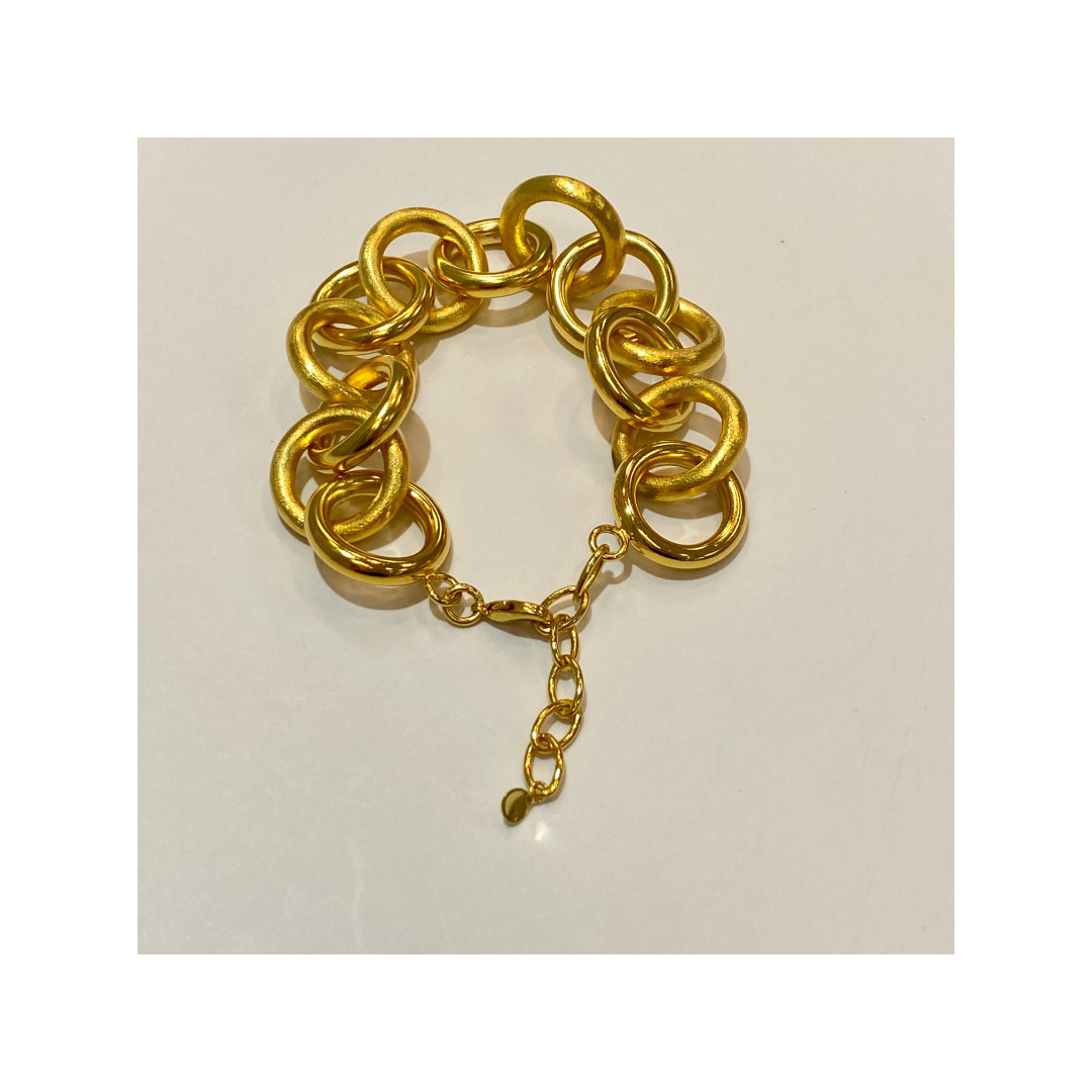 Betty Carre Betty Carre Thick Gold Ring Links