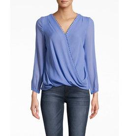 Nicole Miller Nicole Miller Solid Silk Blouse