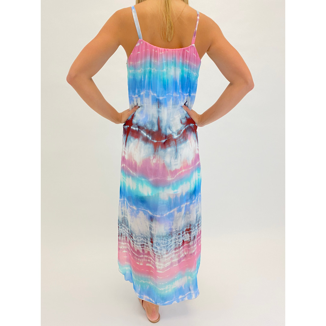 Fifteen Twenty Fifteen Twenty Shirred Midi Dress