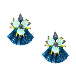 Zenzii Zenzii Tropical Bliss Earring Navy