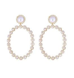 Cristina Sabatini Consignment Cristina Sabatini Pearl Garden Earring Gold