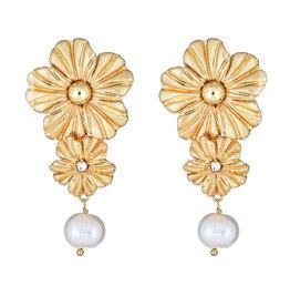 Cristina Sabatini Consignment Cristina Sabatini Poppy Pearl Earring Gold