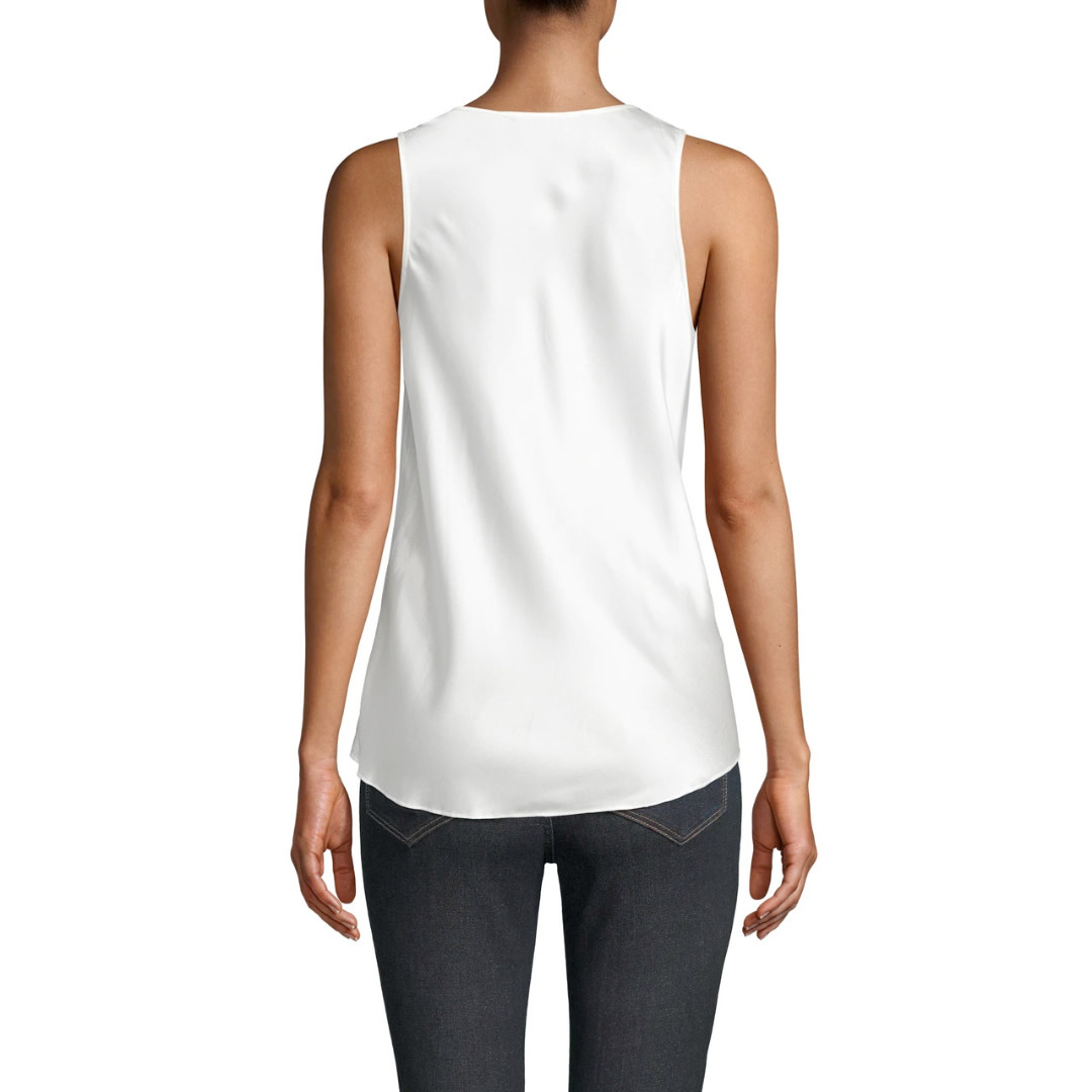 Nicole Miller Nicole Miller Charmeuse Cowl Neck Blouse