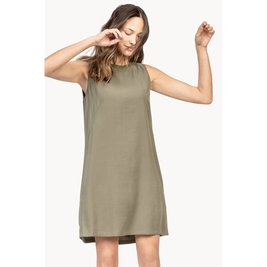 Lilla P Lilla P Pleat Back Dress