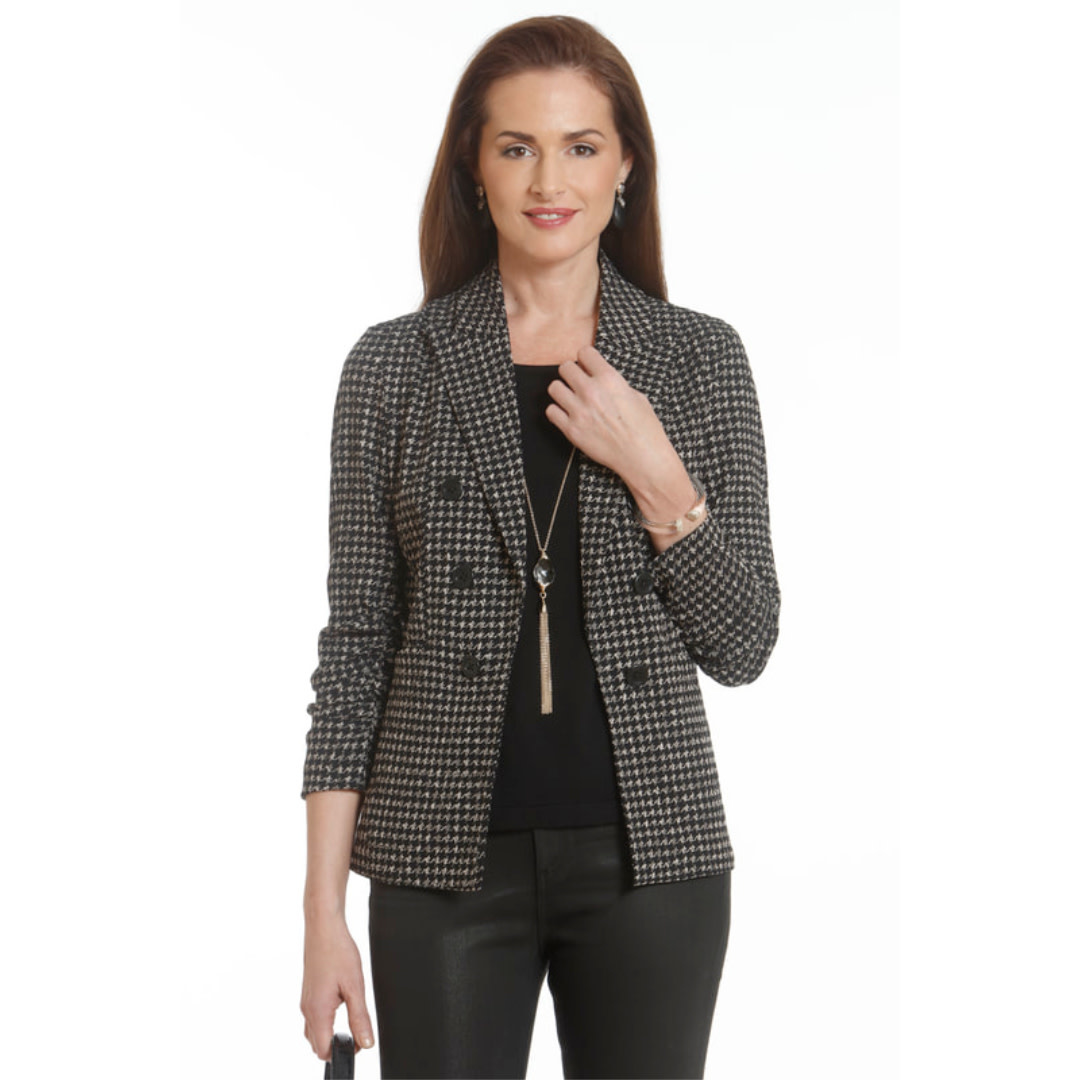 J'Envie J'envie Rouched Sleeve Jacket