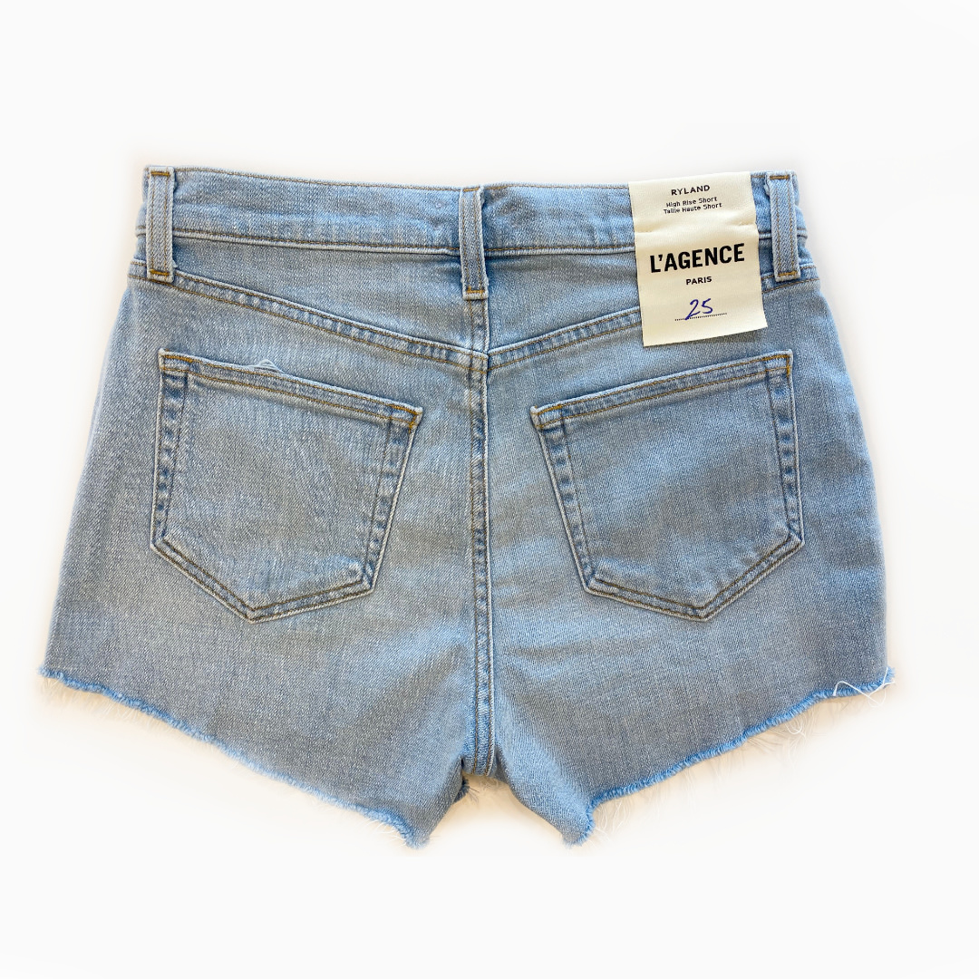L'AGENCE L'AGENCE Ryland High Rise Shorts