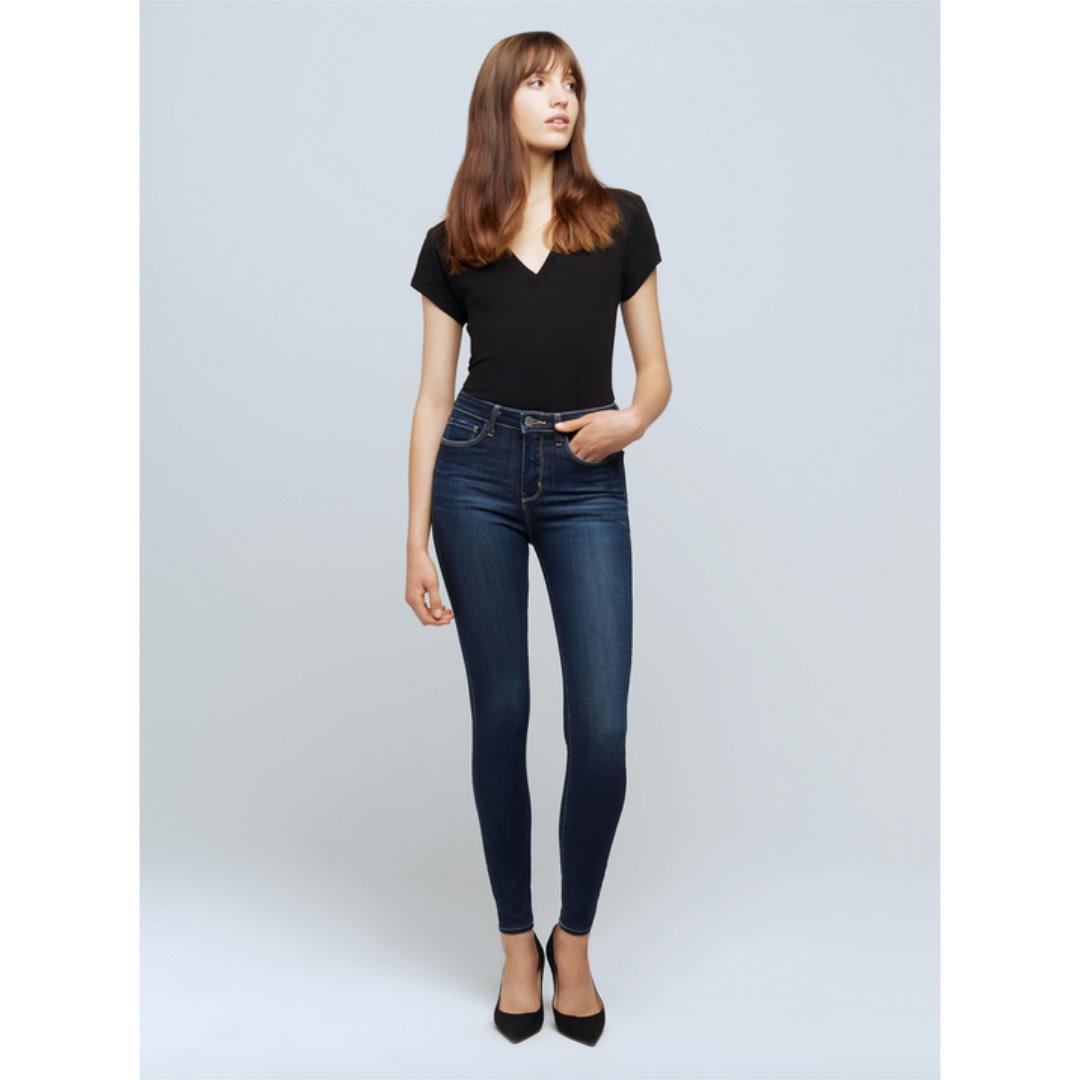 L'AGENCE L'AGENCE Marguerite High-Rise Skinny