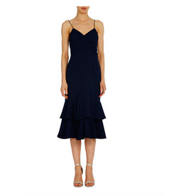ML Monique Lhuillier ML Monique Lhuillier Tiered Cocktail Dress
