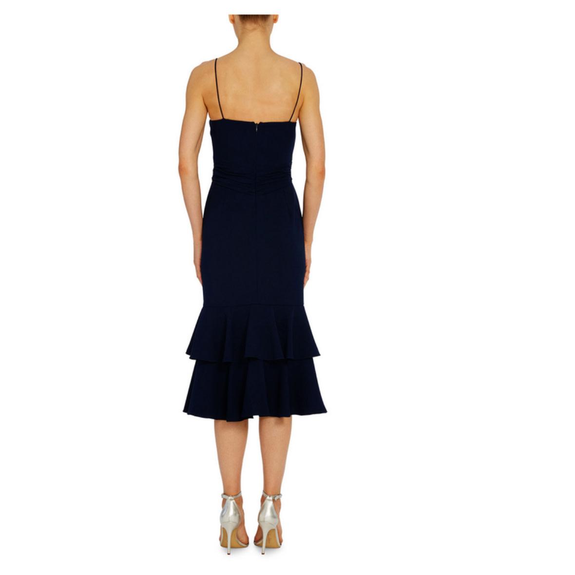 ML Monique Lhuillier ML Monique Lhuillier Tiered Cocktail Dress