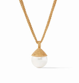 Julie Vos Julie Vos Calypso Pearl Pendant Gold