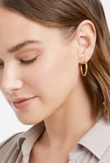 Julie Vos Julie Vos Fleur-de-lis Earring Gold