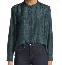 Eileen Fisher Eileen Fisher Mandarin Collar Long Shirt