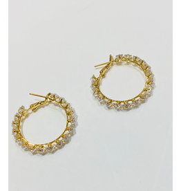 Theia Jewelry Theia Jewelry Priscila Hoop Earring
