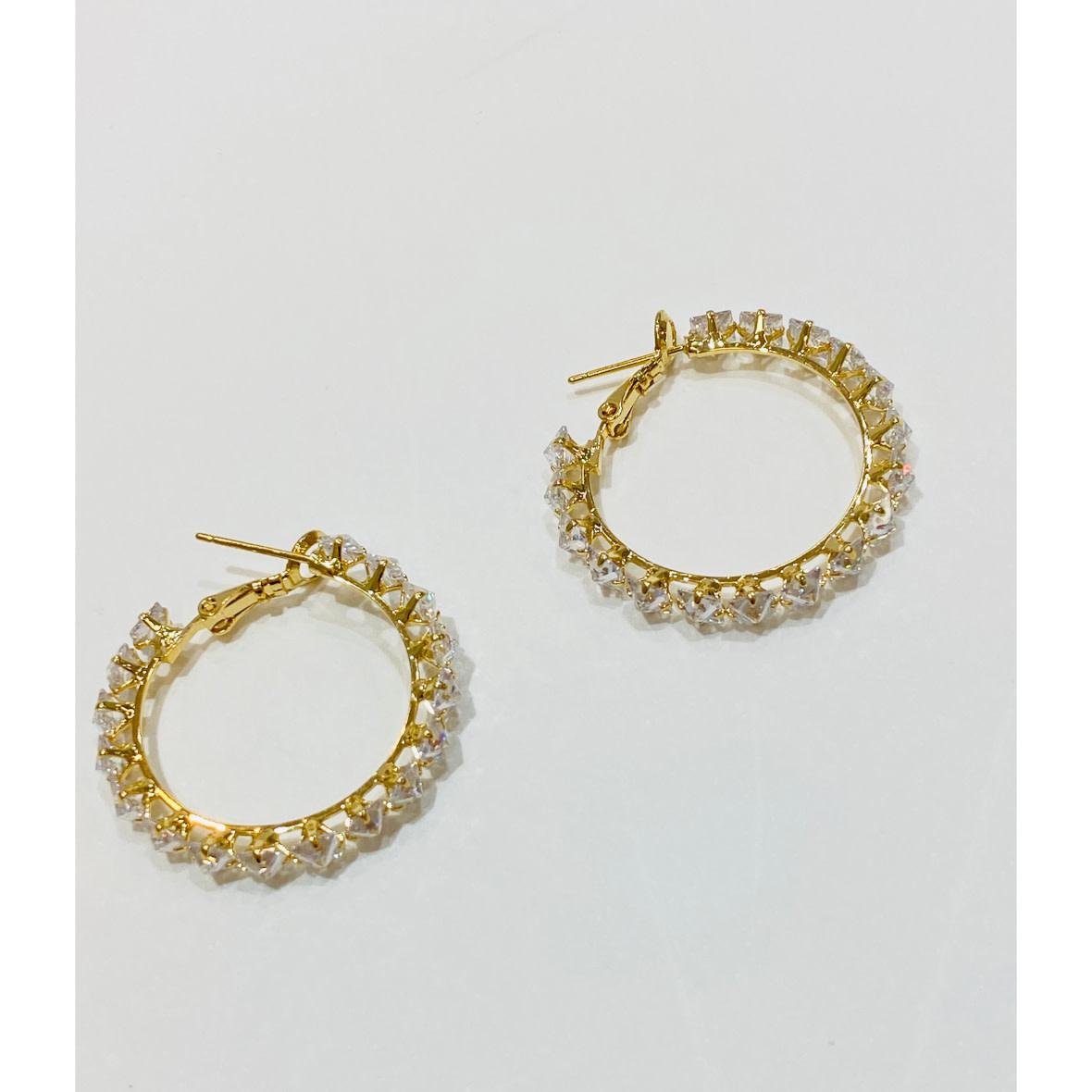 Theia Jewelry Theia Jewelry Priscila Hoop Earring