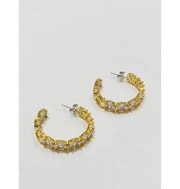 Theia Jewelry Theia Jewelry Lucia Hoop