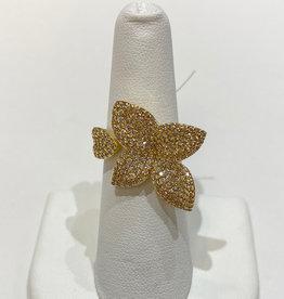 Theia Jewelry Theia Jewelry Petite Plumeria Ring