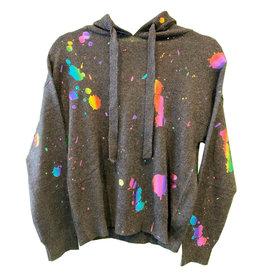 Brodie Cashmere Brodie Cashmere Rainbow Foil Hoodie