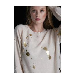 Brodie Cashmere Brodie Cashmere Gold Foil Sweatshirt