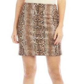 Fifteen Twenty Fifteen Twenty Faux Suede Skirt