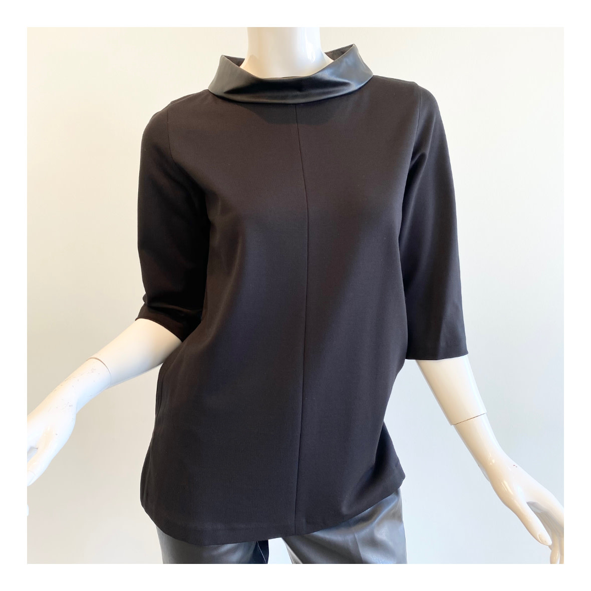 Peace of Cloth Peace of Cloth Tunic Leather Top