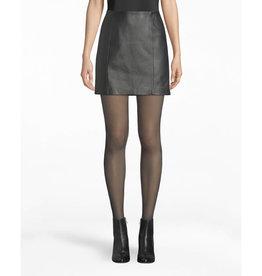 Nicole Miller Nicole Miller Leather Mini Skirt