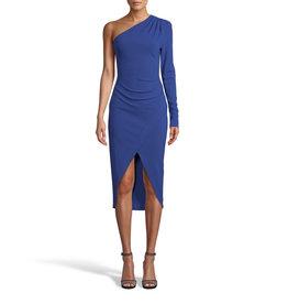 Nicole Miller Nicole Miller Heavy Jersey One Shoulder Dress