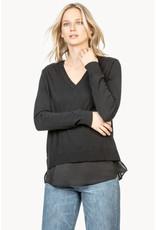 Lilla P Lilla P Mixed Media Sweater