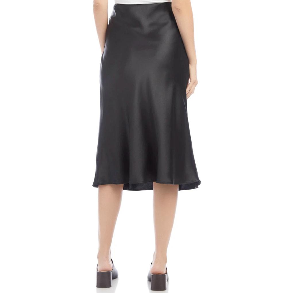Fifteen Twenty Fifteen Twenty Bias Cut Midi Skirt