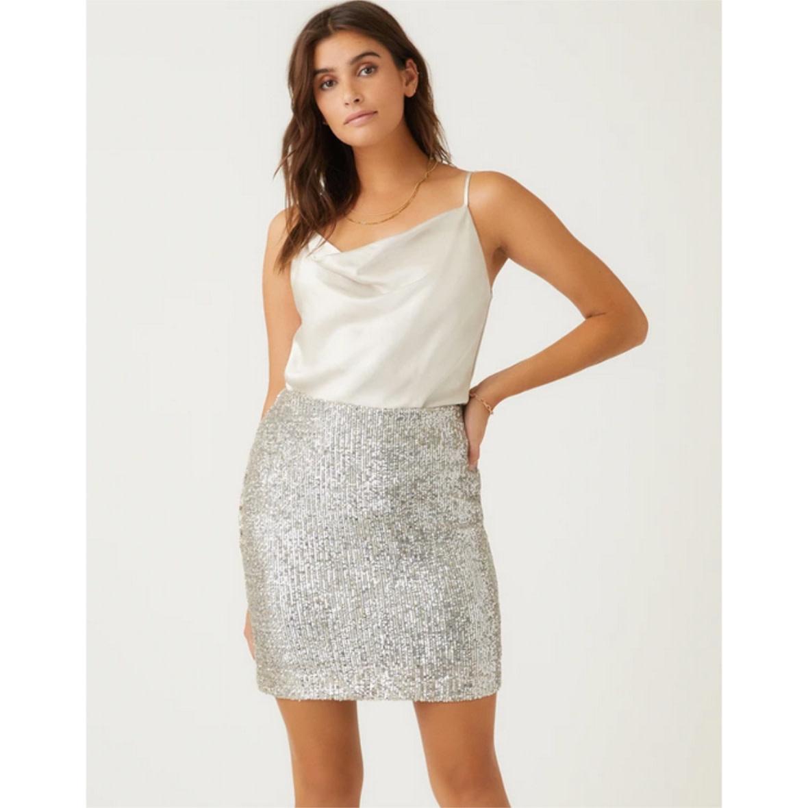 Fifteen Twenty Fifteen Twenty Sequin Skirt