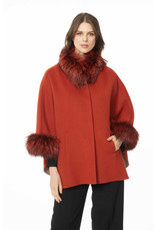 Diomi Diomi Cashmere & Wool Double Face Poncho