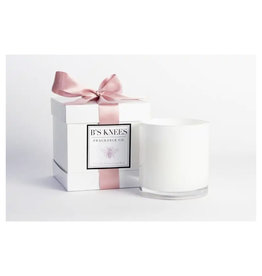 B's Knees Fragrance Co. B's Knees French Flower Market 3 Wick White Candle