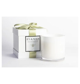 B's Knees Fragrance Co. B's Knees No 3 Three Wick White Candle