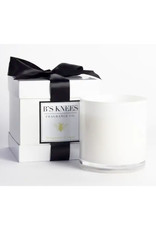 B's Knees Fragrance Co. B's Knees  Bergamont di Capri 3 Wick White Candle