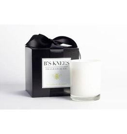 B's Knees Fragrance Co. B's Knees  Bergamont di Capri 1 Wick White Candle