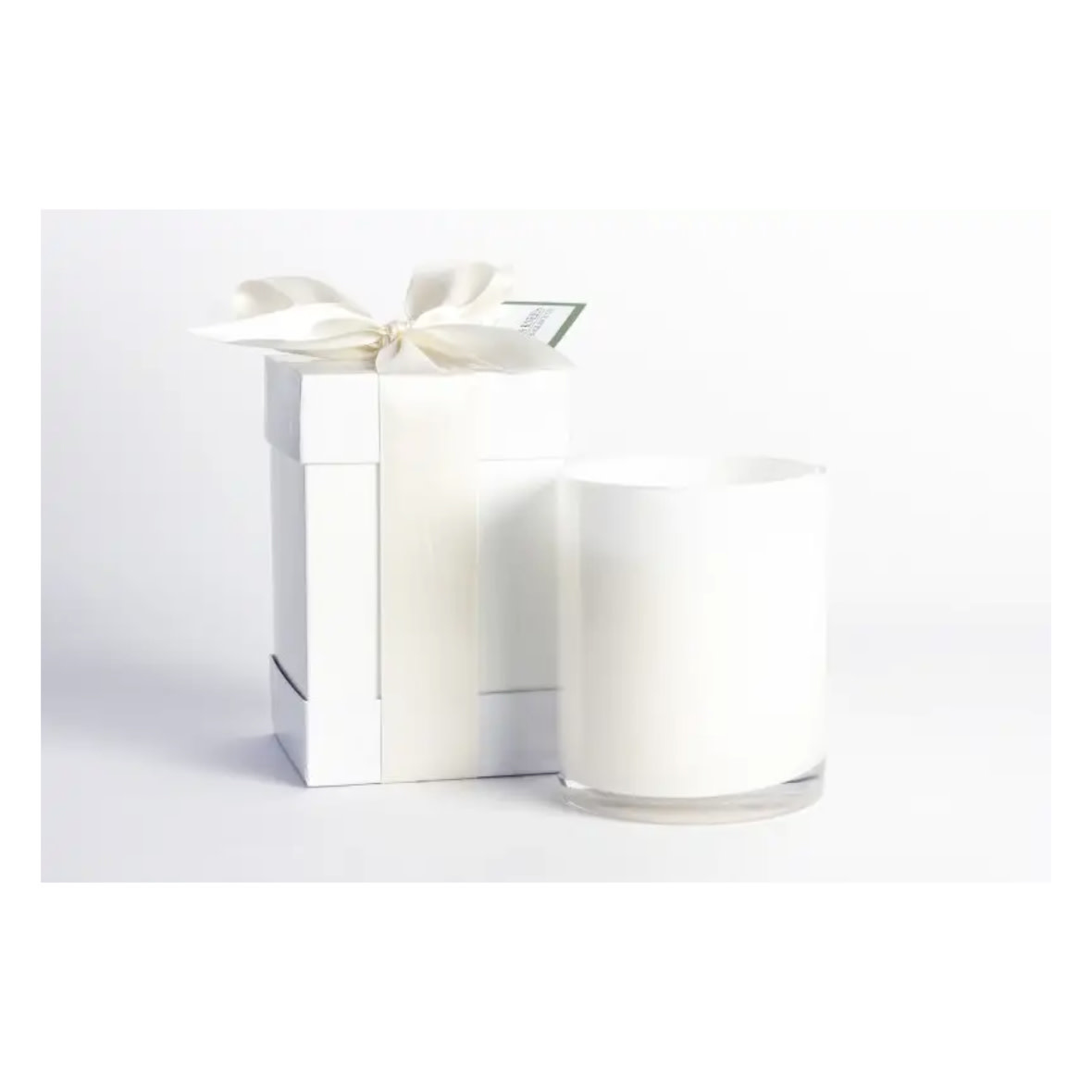 B's Knees Fragrance Co. B's Knees Gardenia 2 Wick White Candle