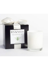 B's Knees Fragrance Co. B's Knees Gardenia 1 Wick White Candle