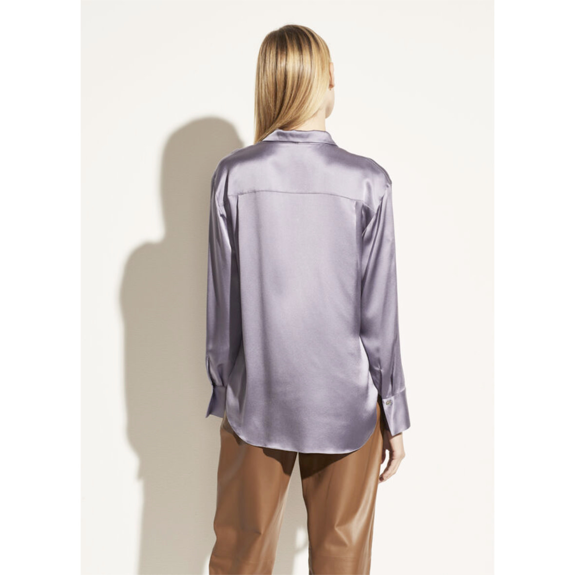 Vince Vince Collar Stand Blouse
