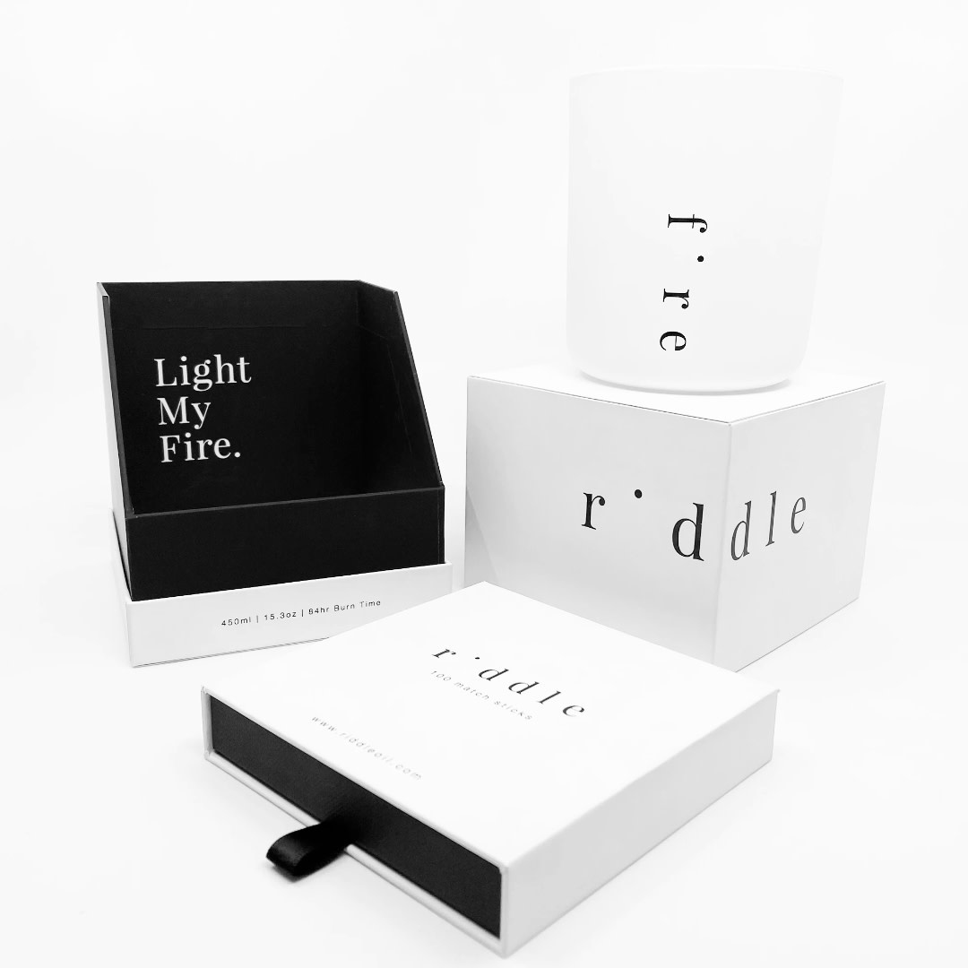 Riddle Oil Riddle Oil Voyeur Fire Candle