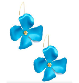 Zenzii Zenzii Threader Pull-Through Earring Turquoise