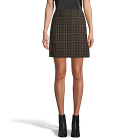 Nicole Miller Nicole Miller Jagger Plaid Mini Skirt