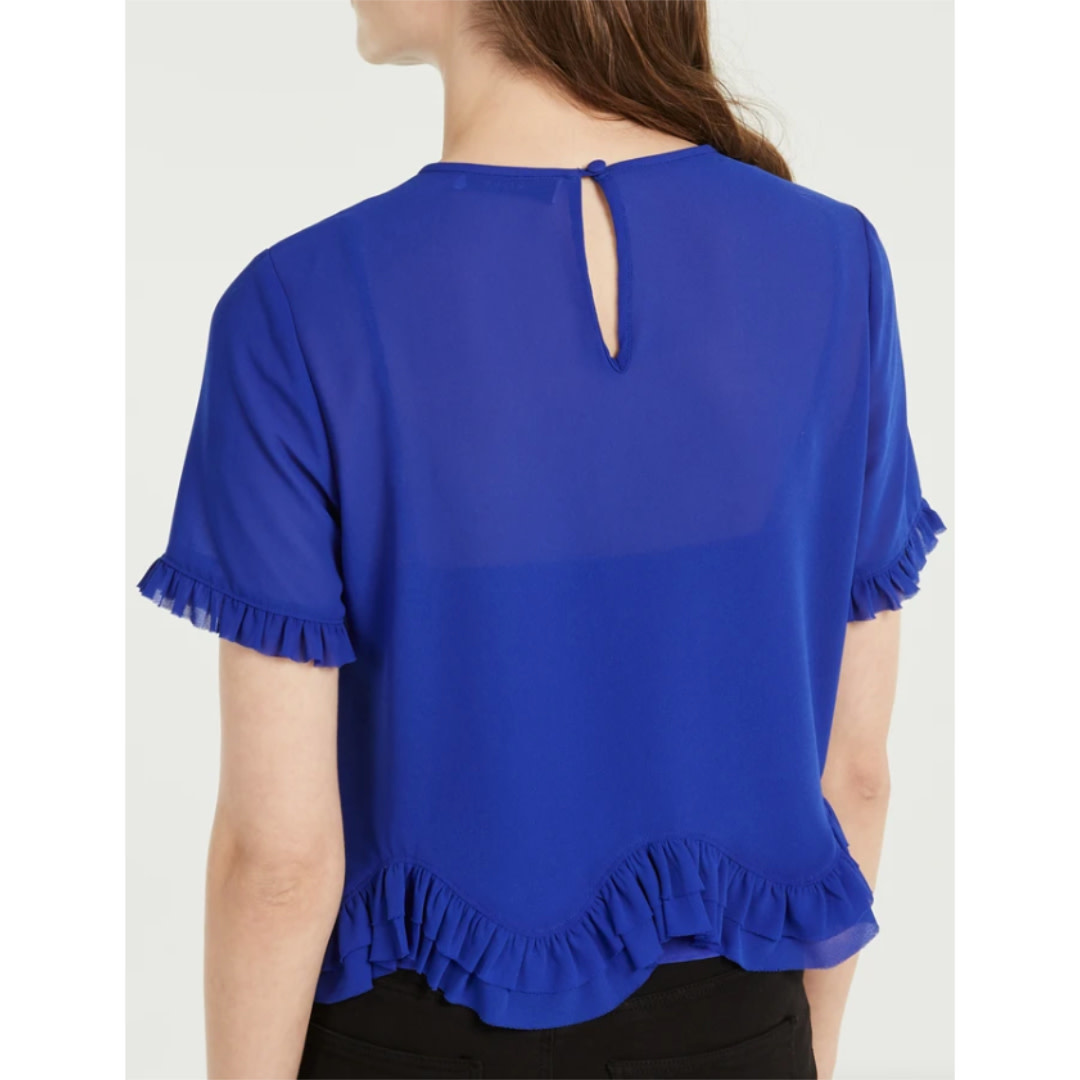 Milly Milly Julia Chiffon Top