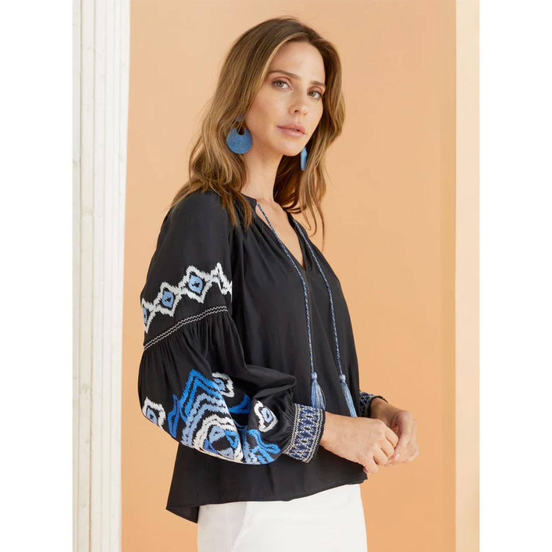 Marie Oliver Marie Oliver Emilia Embroidered Blouse