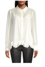 Milly Milly Jenna Chiffon Shirt