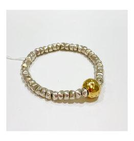 Virtue Jewelry Virtue Jewelry Nugget Bracelet Silver