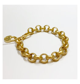Virtue Jewelry Virtue Jewelry Round Rolo Bracelet