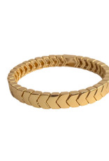 Caryn Lawn Caryn Lawn All Gold Arrow Bracelet